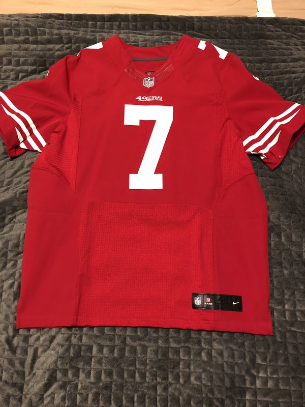 7603634c1e3 Nike NFL San Francisco 49ers Elite Home Jersey ( 7 Kaepernick) for ...