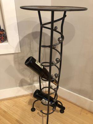 Designer wine rack table for Sale in Washington, DC