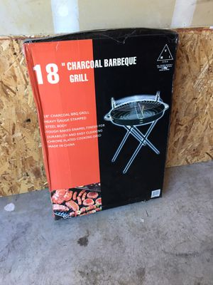 """Charcoal No-Lid BBQ Grill 18"""" NEW for Sale in North Las Vegas, NV"""