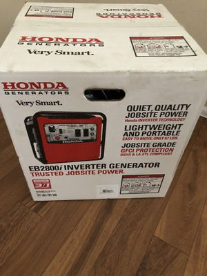 Honda generator inverter eb2800i new sealed for Sale in Orlando, FL