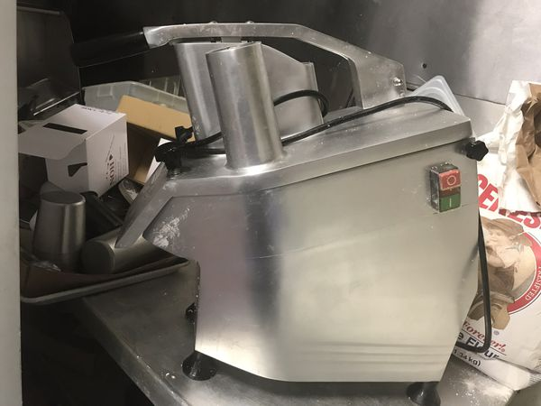 Commercial Food Processor With Blades