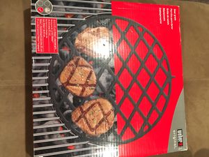 Weber charcoal grill sear grate for Sale in Washington, DC