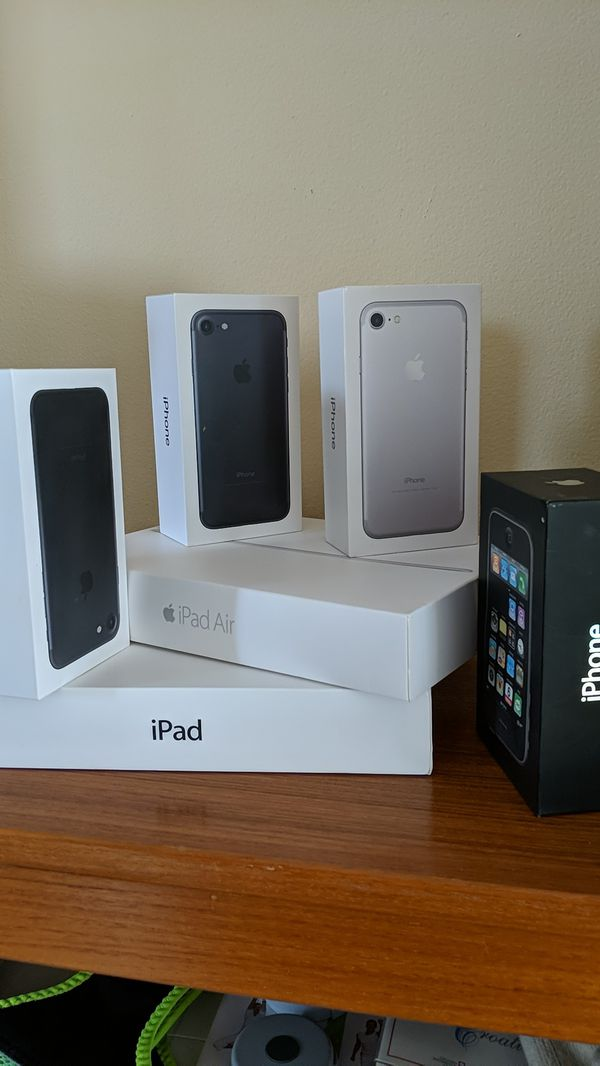 iPhone and iPad boxes only for Sale in Streamwood, IL - OfferUp