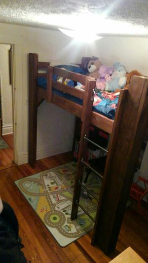 Hand made loft bed for Sale in Waynesboro, VA