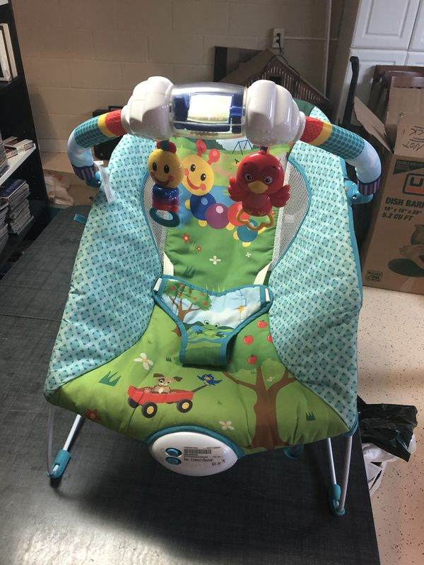 3b66dbfdb05a Baby Einstein Bouncer Caterpillar s Day at the Park POOS for Sale in ...
