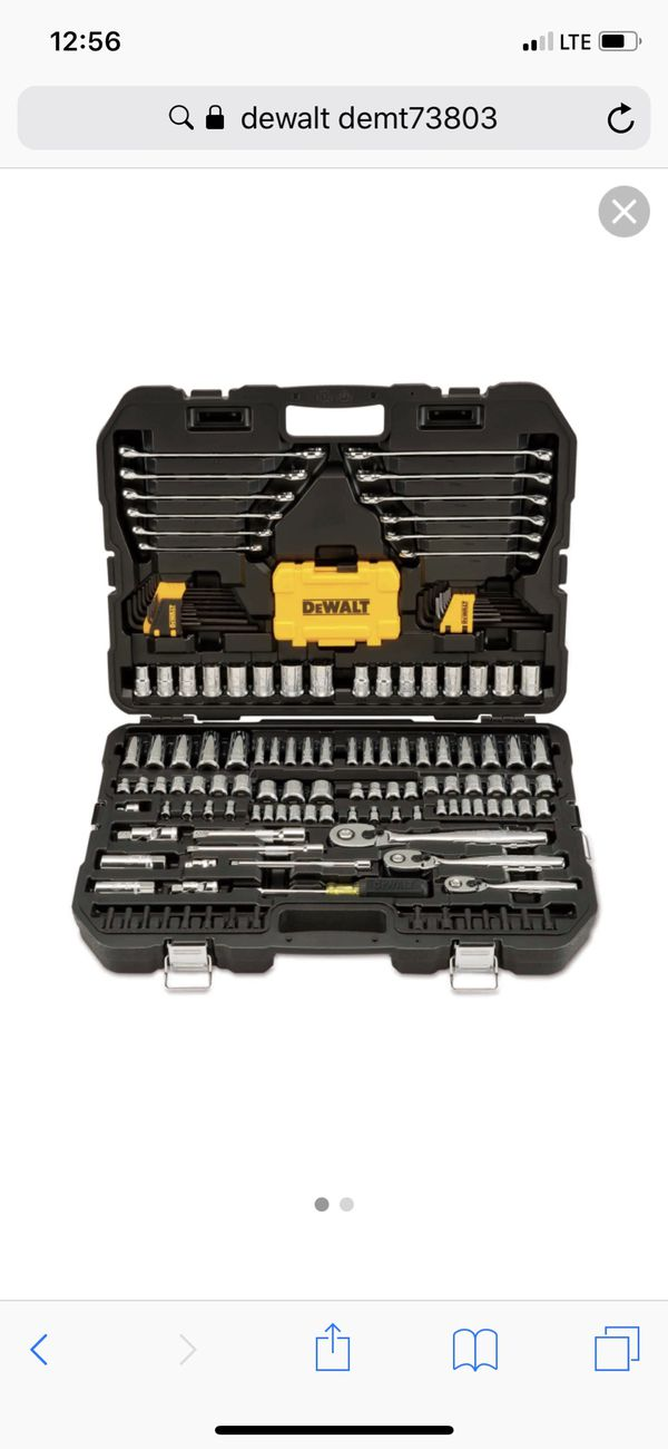 335cb2caf8a Dewalt Tools DWMT73803 168 Piece Mechanics Tools Set for Sale in ...
