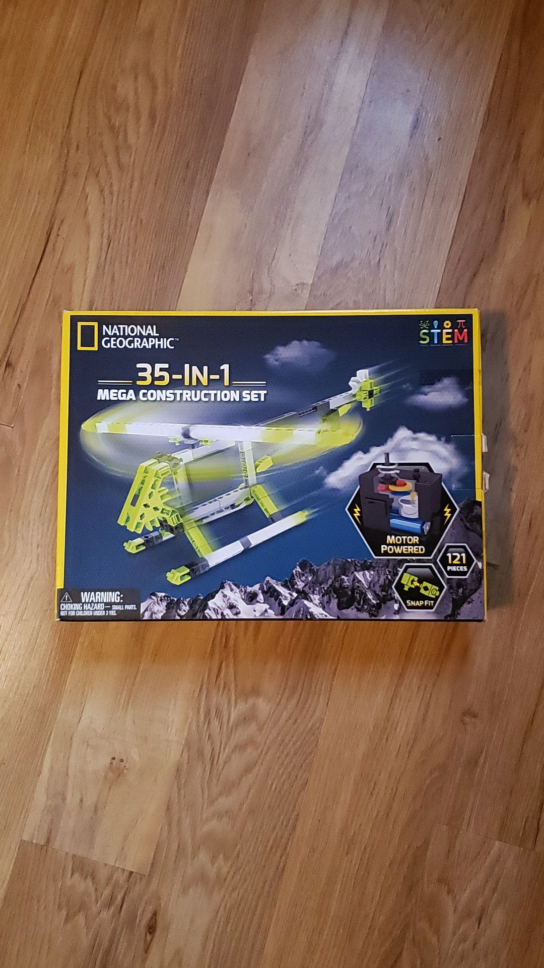 National Geographic 35 in 1 construction set
