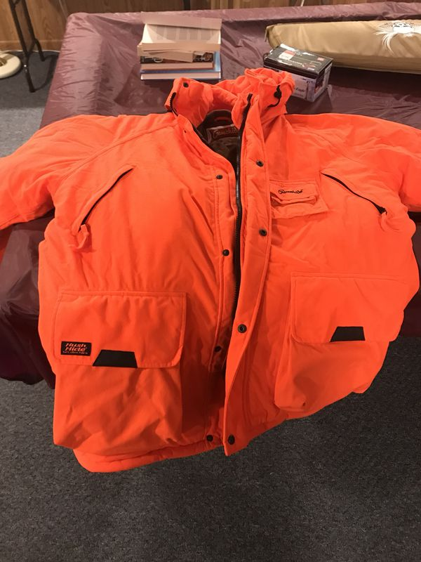 8ff0f5c07345d Gamehide blaze orange hunting jacket for Sale in Greenfield, WI ...