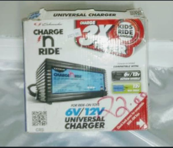 6v/12v universal charger for ride on toys for Sale in Austell, GA - OfferUp
