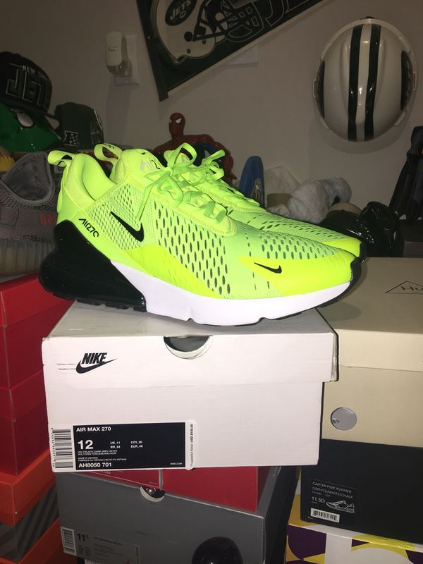release date 13682 8f839 Nike air max 270 size 12 for Sale in Clifton, NJ - OfferUp