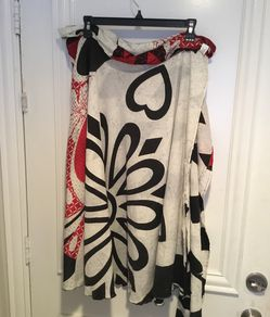 Jovani Designs Printed Wrap Skirt (Size M) Thumbnail