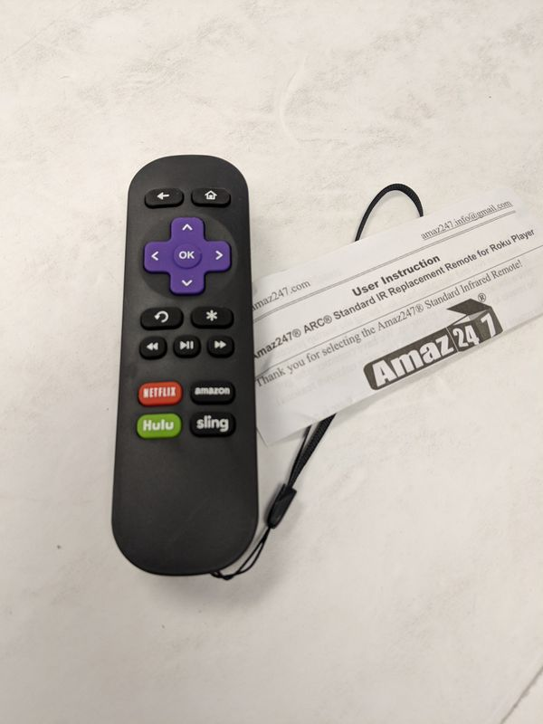 Amaz247 Standard IR Replacement Remote for Sale in Vancouver, WA - OfferUp
