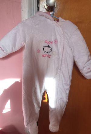Baby girl snow suit for Sale in Gainesville, VA