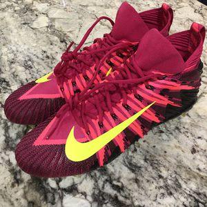 NIKE ALPHA MENACE ELITE FOOTBALL CLEATS FIREBERRY/PINK/VOLT MEN'S SZ: 14 for Sale in Alexandria, VA