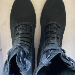 Black Stretchy Boots  Thumbnail