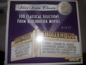 Classical Movie cds ten of them all new. Amazing! for Sale in Southfield, MI