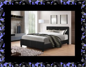 Full platform bed with box spring for Sale in Ashburn, VA