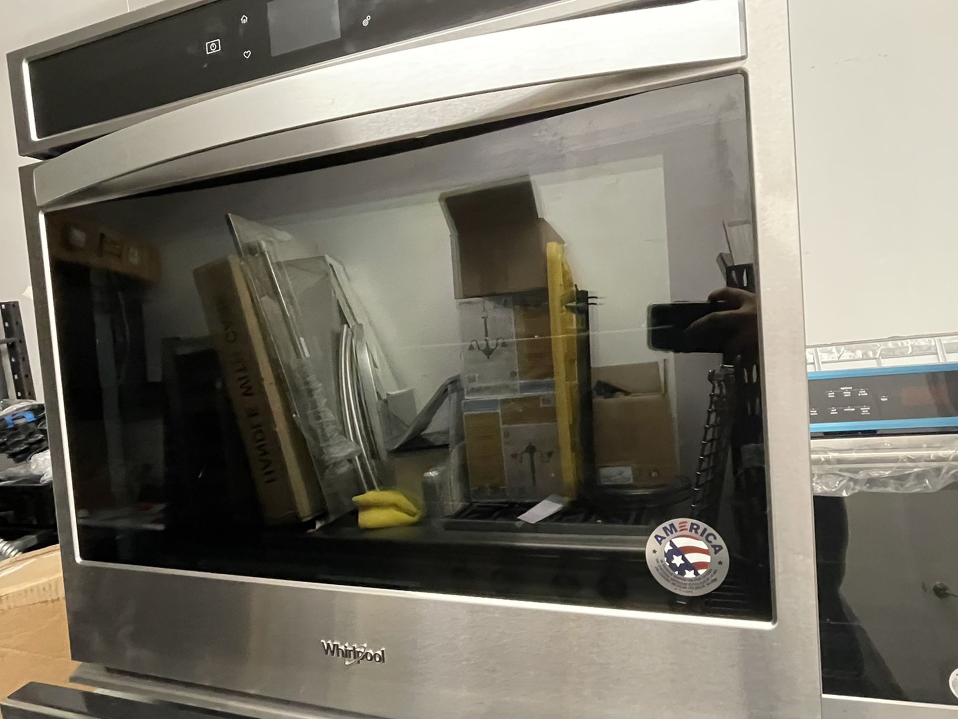 """30"""" Whirlpool Single Wall Oven Electric Stainless Steel"""