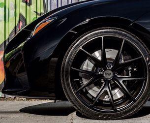 Niche Misano Satin Black Wheels @ Miami Best Wheels Thumbnail
