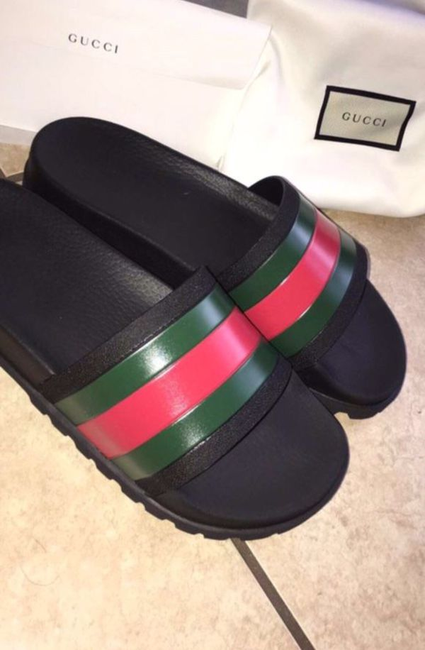 3030d71f5122 DEADSTOCK GUCCI SLIDES SIZE 8 for Sale in Houston