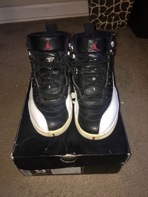 Air Jordan 12 playoff for Sale in Silver Spring, MD