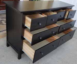 Photo Beautiful Ikea Hemnes 8 Drawer Dresser Chest Clothes Storage Organizer Wardrobe Stand Unit