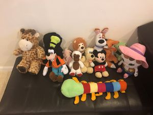 Baby soft toys 25 cents each for Sale in Ashburn, VA