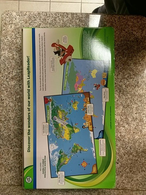 Leapfrog Interactive World Map For Sale In Fontana Ca Offerup
