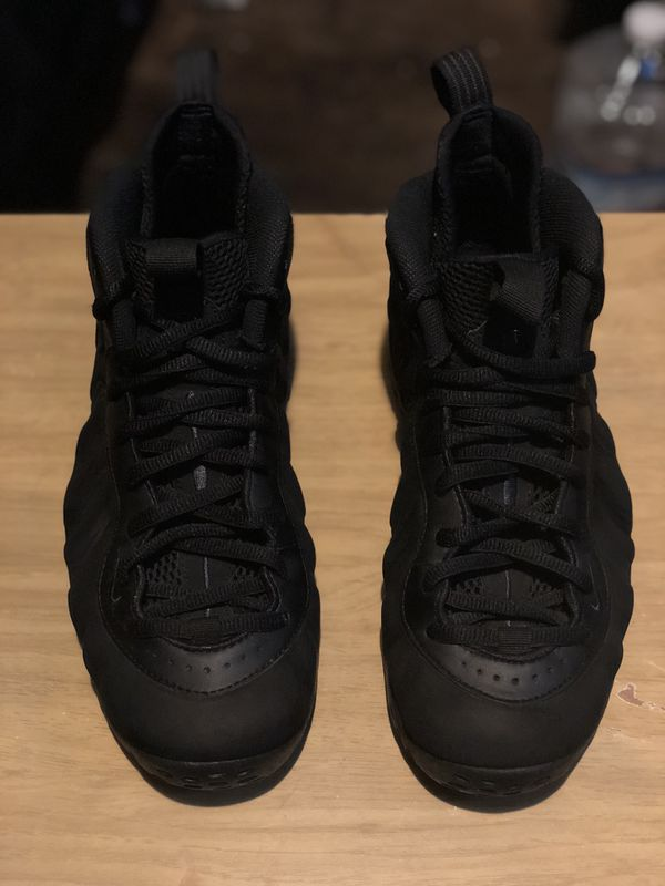 ce5769838cda Nike Air Foamposite One PRM EXT Triple Black Suede Size 9 for Sale ...