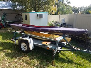 16 foot tandem kayak holds 2 adults 1 child 650 lb total for Sale in Saint Cloud, FL