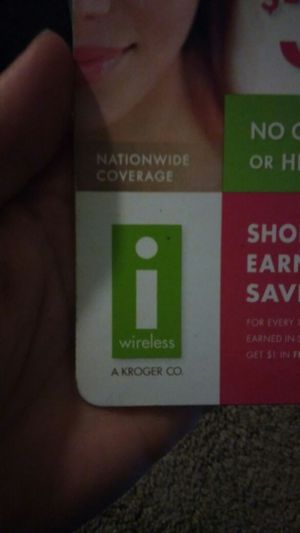 $35 on Sprint Network for iWireless (Kroger) for Sale in Chula Vista, CA -  OfferUp