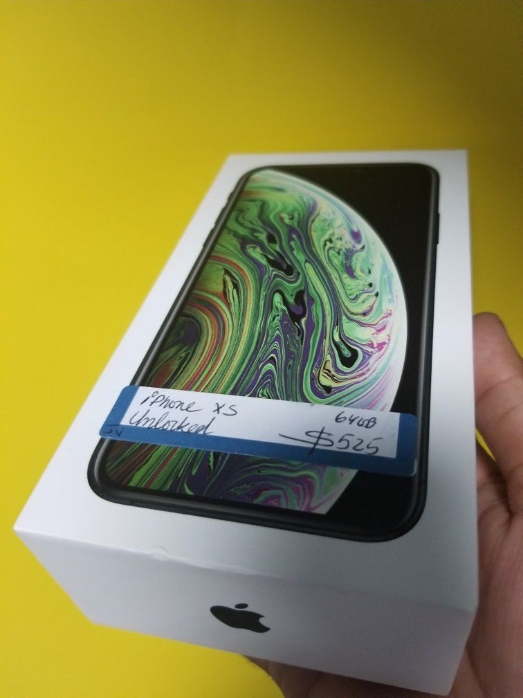 iPhone XS 64gb Unlocked Financing Available For 54 Down no Credit Needed Take Home Today