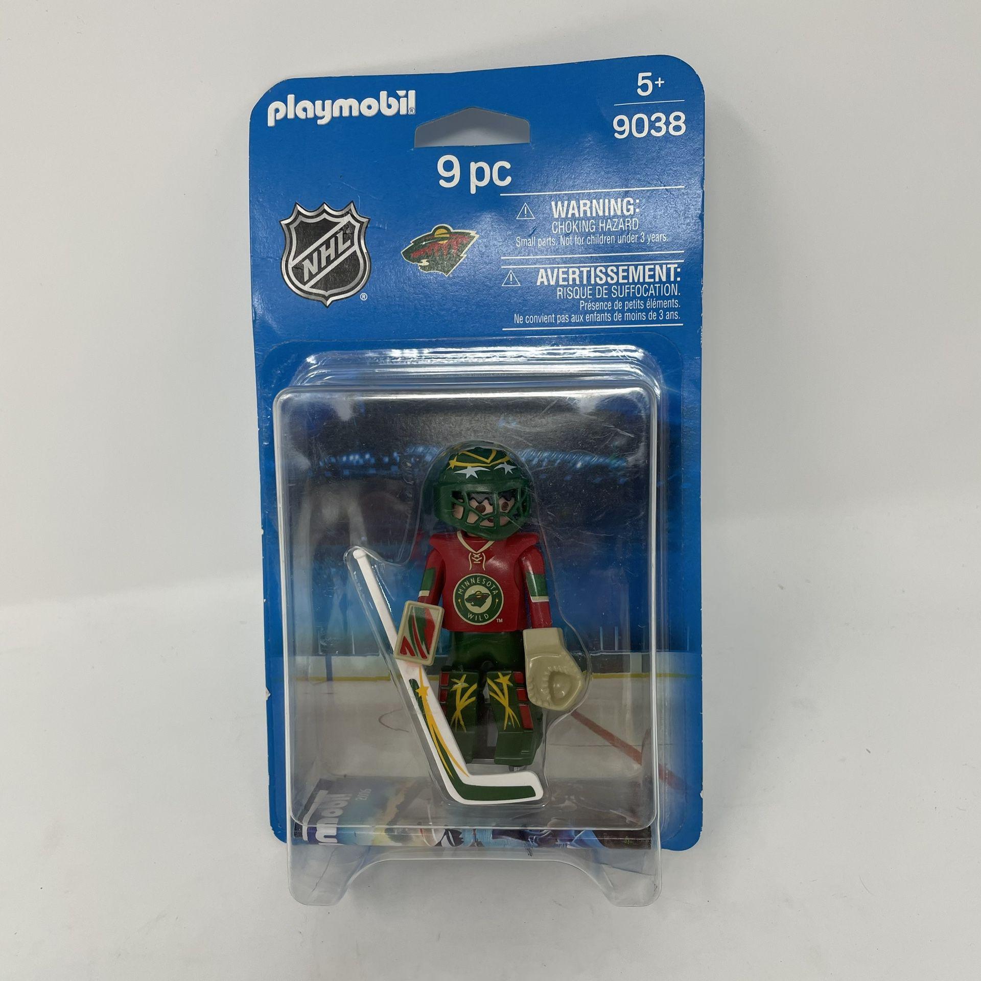 Playmobil NHL Minnesota Wild Goalie 9038