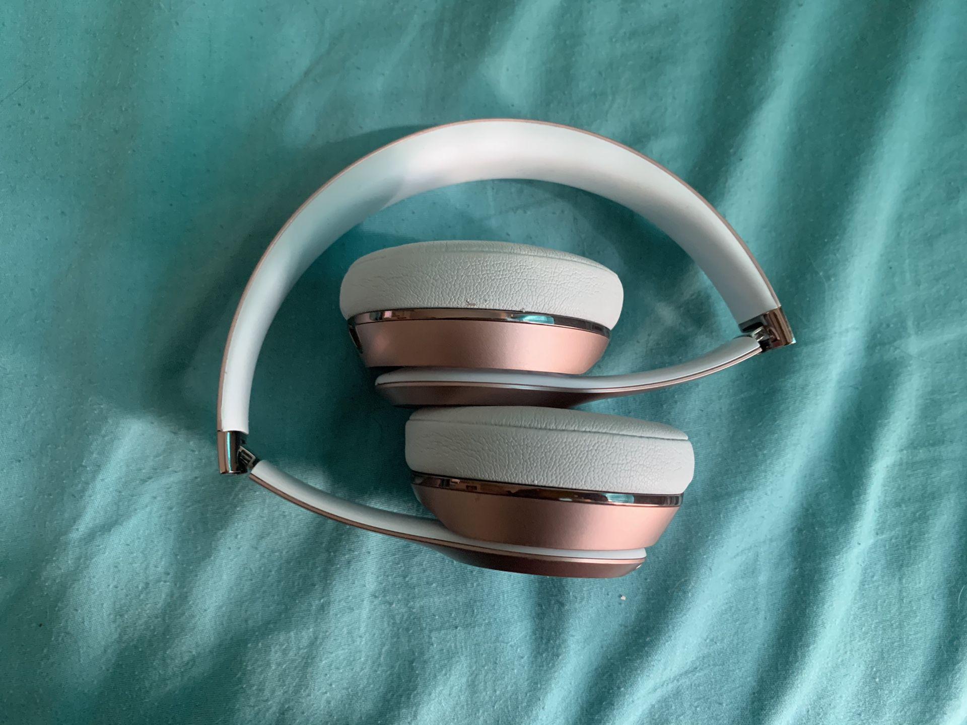 Rose gold beats wireless