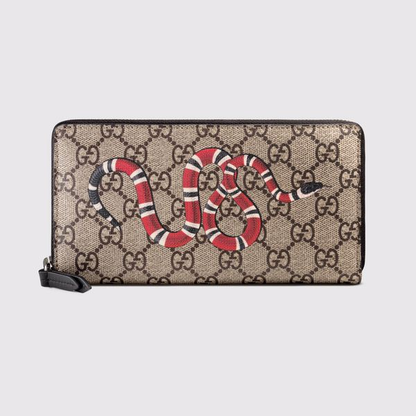 d6b040df60a4eb Gucci mens zip around wallet. snake print for Sale in Lexington, KY ...