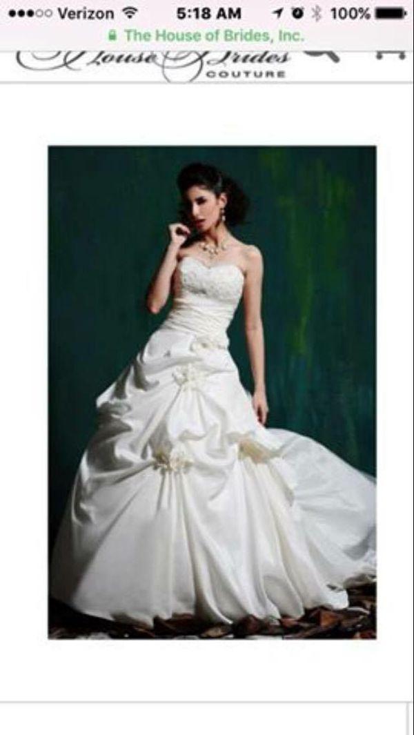 Cream Color Wedding Dress Size 8 Murfreesboro Tn