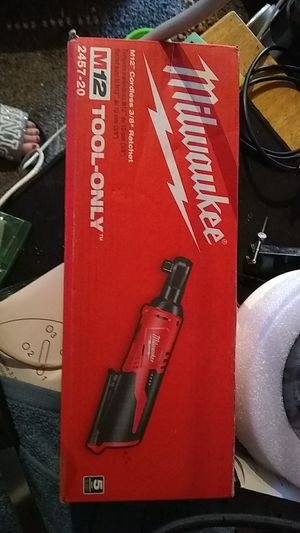 M12 cordless 3/8 ratchet for Sale in Normandy Park, WA