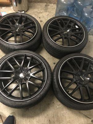Touren Tr60 Wheels 20x8 5 With Road Hugger Gt Tires 70 Tread Life