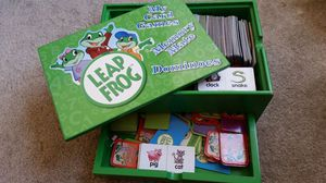Leapfrog Card games box for Sale in Ashburn, VA