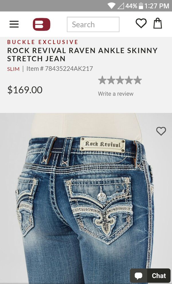 e75eeaebc2e Rock Revival jeans brand new with tags for Sale in Wellborn