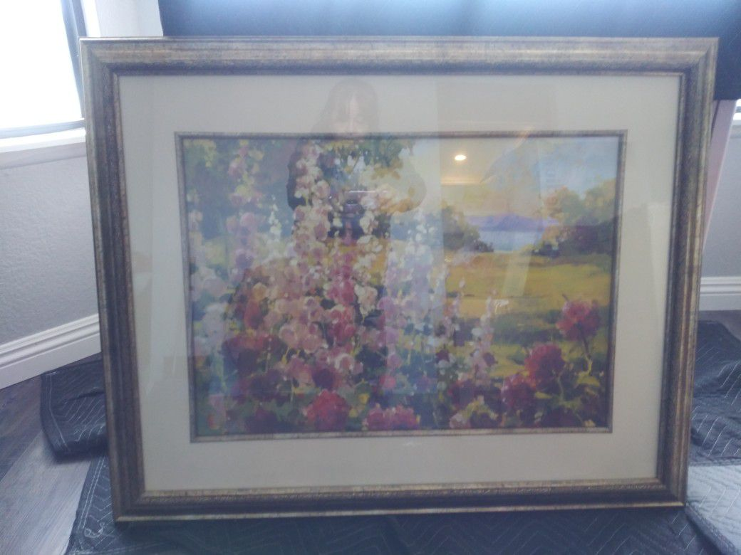 Large Beautiful Pastel Picture