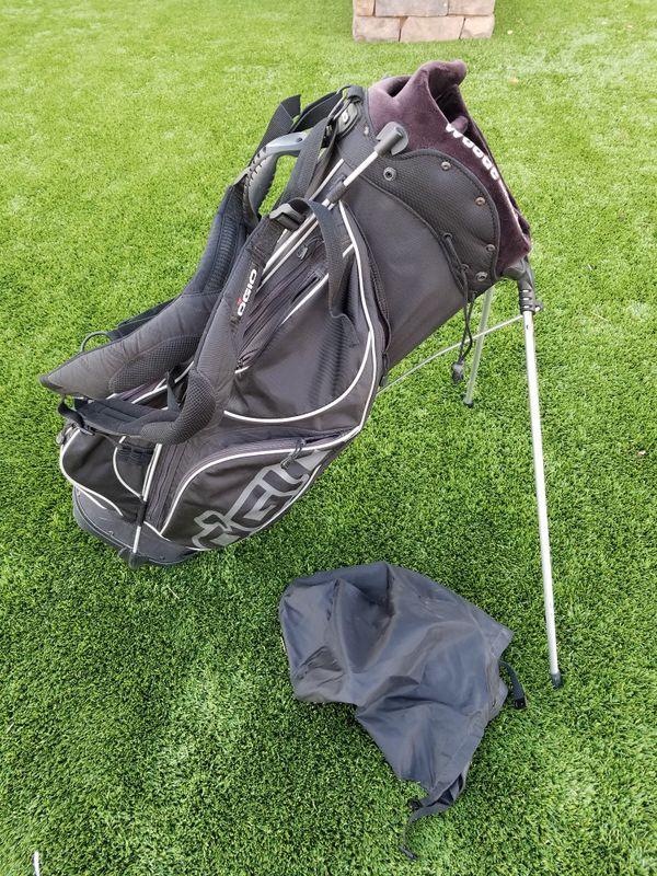 Ogio Golf Black Stand Bag Woode Club Management System