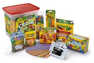 Crayola Creativity Tub 90+ Pieces Art Set for Sale in Washington, DC