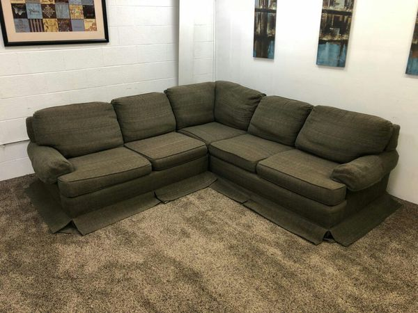 1227 2 Piece Tweed Sectional Sofa Set For Sale In Lake Oswego Or
