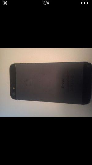 Locked iPhone 5 Black slate 16Gb for Sale in Sacramento, CA