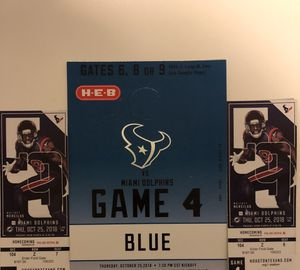 Houston Texans Tickets for Sale in Houston, TX
