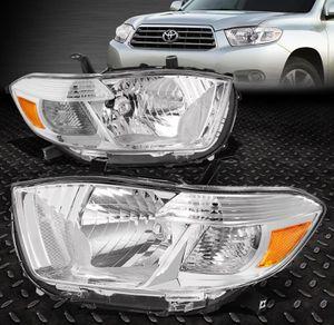 2008~10 Toyota Highlander chrome headlights 🚚🚚 for Sale in Montebello, CA