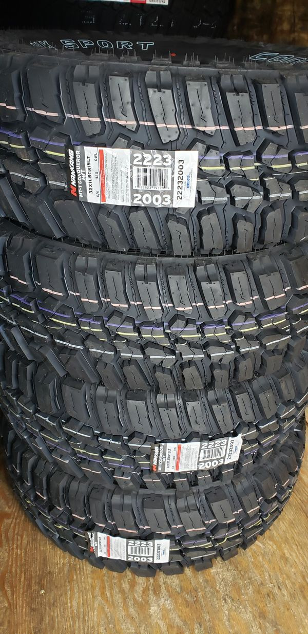Hyundai Inland Empire >> 4 New Tires 32x11.50-R15 inch tire Nankang MT M/T Mud Terrain 32 11.50 15 R15 LT 6 ply for Sale ...