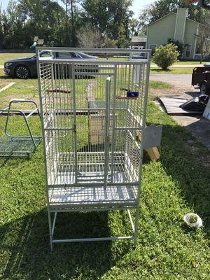 Photo Large Powder Coated bird cage