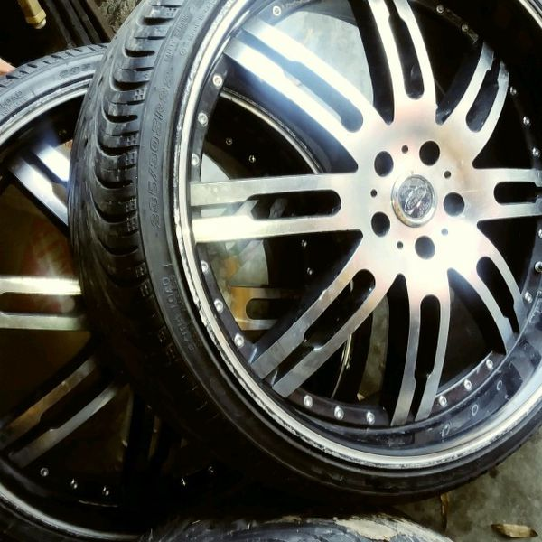 """""""REDUCED""""22 INCH RIMS+TIRES For Sale In Little Rock, AR"""